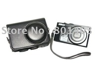GENERIC LEATHER CASE FOR NIKON COOLPIX P300 BLACK