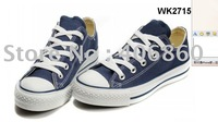 2012--Free shipping 2 pcs/lot   hot selling fashion new style low price Couples canvas shoes