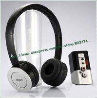 Original Rapoo H8010 2.4G 3.5mm/RCA wireless Digital hi-fi headphone,DVD MP3 TV PC stereo headset,free shipping for 1pcs
