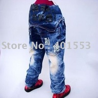 Mixed  Free Shipping Wholesale 10pc/lot children jeans,short pants,shorts baby clothing children's jeans fashion jeans/823