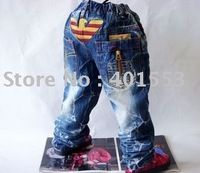 Mixed  Free Shipping Wholesale 10pc/lot children jeans,short pants,shorts baby clothing children's jeans fashion jeans/901
