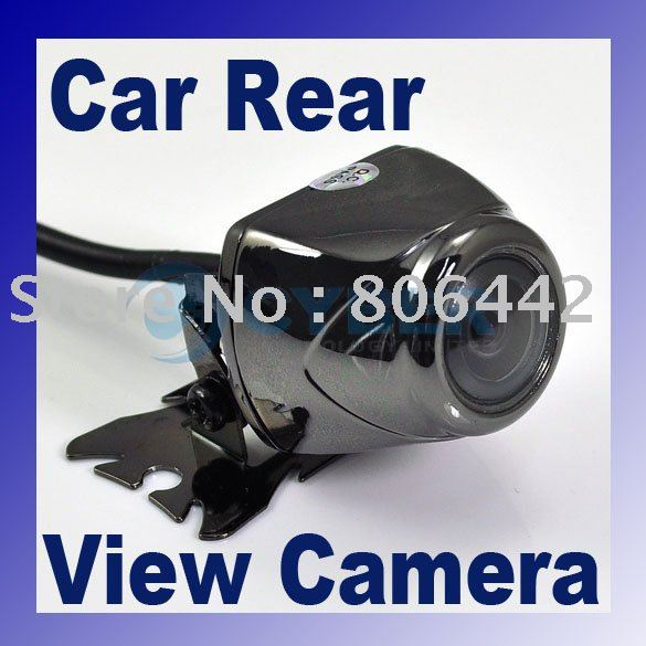 New E400 135 Wide Angle Black Night Vision Reverse Backup Color Car Rear View Camera freeshipping dropshipping