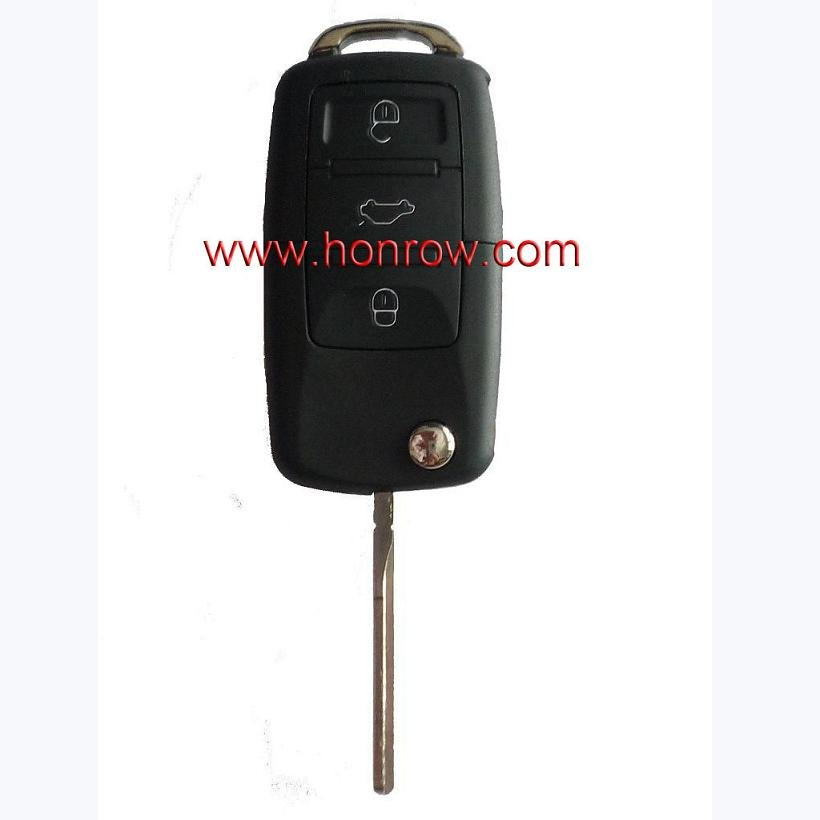 High Quality VW 3 Button remote key 1J0 959 753 AH with free shipping 65%(China (Mainland))