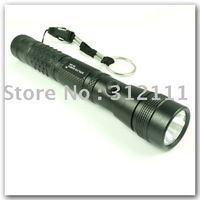 1pcs/lot New Wholesale 3W Led Waterproof Lamp Torch Super Bright Flashlight For Camping Hiking hot sell