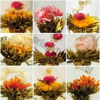 20 kinds Blooming tea, Artistic Blossom Flower Tea, Individual Vacuum packing, CK13,Free Shipping