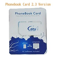 Hot Sale Phonebook Card 2.3 Version