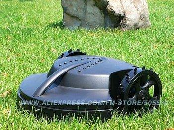 Intelligent lawn mower auto grass cutter, Lead-acid battery, auto recharge, robot grass cutter garden tool freeshipping