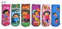Dl cartoon design socks cotton socks 12pairs/lot hot sale chidren socks baby socks wholesale