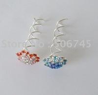 Wholesale-48pcs/lot,Fashion Spin pin(mix style,mix colors) New design! Free shipping!