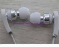 Free Shipping  Top Quality Brand New Earphone  (Red White)