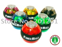 2014 hot ! Wholesale 4pcs/lot Free shipping + power supplier, body building sports product ,gym grip ball with Led