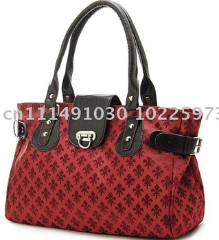 free shipping,2011 New,Elegant printing fashion single shoulder bag, mature lady handbag, large capacity middle-aged lady bags