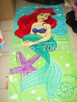 wholesale+free shipping cartoon bath towel kids towel children bath towel lovely style 053009