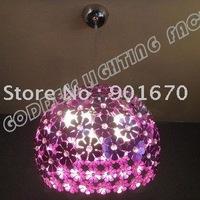 Free Shipping D300mm modern purple plum blossom flower pendant lamp ceiling lamp lighting also ship for wholesales shippment