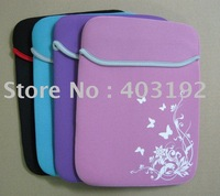 "Free Shipping 10pcs/lot 12.1"" 12.4""  PU laptop color bag, laptop sleeve, notebook case, notebook bag for HP DELL Acer Laptop"