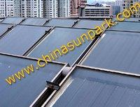 flat panel solar pool water heating system