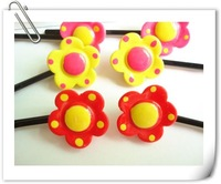 Beautiful flower Kids Hair Pin,Kids flower hair clip,Kids Hair accessory,20pcs/lot,Freeshipping