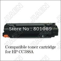CC388A 388 388A 88A toner cartridge for HP P1007/1008(Free Shipping Compatible toner cartridge for CC388A)
