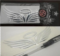 2011 new design 3D Car angel wings decals sticker devil Refitted automobile motorbicycle decoration+ DHL Free shipping to USA