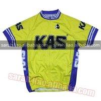 KAS Yellow vintage CYCLING JERSEY SIZE S,M,L,XL,XXL,XXXL