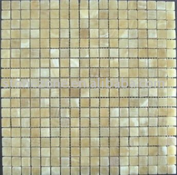 wall onyx marble mosaic tile(China (Mainland))