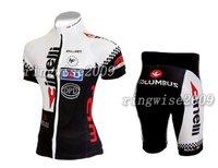 Free Shipping!! WOMEN CYCLING JERSEY+SHORTS BIKE SETS CLOTHES 2011 CINELLI-WHITE-SIZE:S-4XL