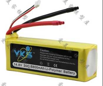 14.8V 30c 5800mAh polymer li-ion li-polymer battery for  aeromodelling plane model airplane car model carmodel freeshipping
