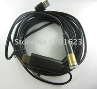 5m Waterproof USB Wired snake Camera/Waterproof Wire Endoscope Cable USB Hot item