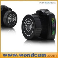 HD World Smallest DVR Camcorder Camera - Cool Gadget HD Camera with PC Camera Spport 32GB
