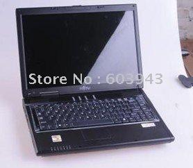 Free shipping 100% original FUJITSU  AMILOSI S6440 Stock laptop(intel Core 2 Duo TL52 2.0G/1G memory/160G hard disk/combo/14 inc