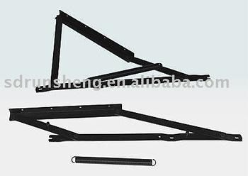 storage bed mechanism, bed frame