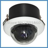 "CCTV 1/4"" 410K/470K 540TVL 100x PTZ Hi-Speed SmartDome Embedded Kam out door camera"