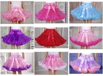 free shippng Baby Pettiskirt Ruffle tutus Baby Girl Dress Dancewear 10pc/lot
