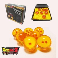 Cosplay accessory - Anime Dragon ball Z crystal ball star set of 7 cosplay