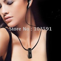 FREE shipping smallest 4GB Touch Button Mini MP3 Player with Necklace,earphone,usb cable