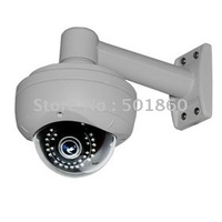 "Sony 1/3""ccd  CCTV 600TVL 2.8-11mm Lens surveillance dome ccd camera With bracket"