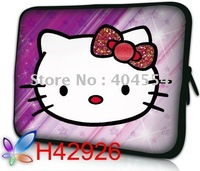 Free FEDEX Shipping 17.4inch Hot Selling Brand New Hello Kitty Laptop Notebook Sleeve Bag Case