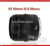 Original EF 50mm f/2.5 macro lens,Portrait Photography lens,normal lens,for EOS 50D/450D/500D/550D/7D/1000D/1Ds etc.