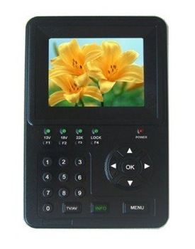 3.5 Inch TFT LED Handheld Satfinder meter +Multifunctional Monitor function KPT-966