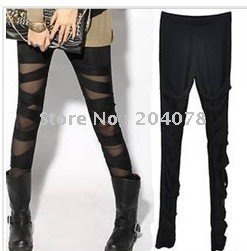 free shipping wholesale 10pcs/lot 2011 ASUKA show crus export Korea bind belt render pants 7 minutes of pants