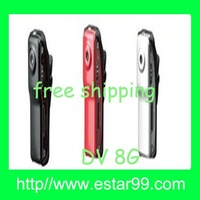 Free shipping&3 pieces Silver/Black/Red  color-Mini Digital 200M Pixels DV Video Camera DVR Camcord