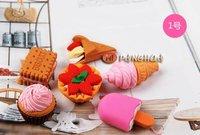 Modelling fruit Eraser,cartoon eraser,food eraser,school supplies,office stationery/children's stationery/FREESHIPPING