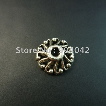 400 pcs/lot alloy bead caps Free shipping