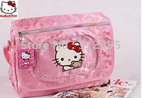 free shipping 2011 new Wholesale beautiful noble hello kitty bags 3pc  35x30x12