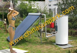 Do it youself free sea shipping 100L solar water heater(China (Mainland))