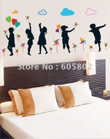 Free shipping,51*78cm DIY wall stickers,Angels wallpaper, Room Wall Decor,HL5880