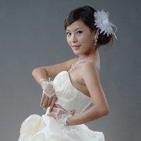GL002-Wedding accessories Elegance Bridal Gloves Lace Yarn Lacework Fingerless Gloves mitte gloves