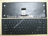 DHL Free Shipping Laptop 148792021 for SONY VPC EA with frame Series Black US*(United States) version Model:V081678D keyboard