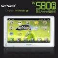 Original White 5.0 inch Touch Screen Onda VX580R V5 Intelligent HD MP4 Player with Android 2.1 System TV-Out 8GB, Fast Shipping!