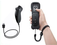Remote Controller+Nunchuck for Wii Color hot sell(Black, White,Pink, Blue, Red)
